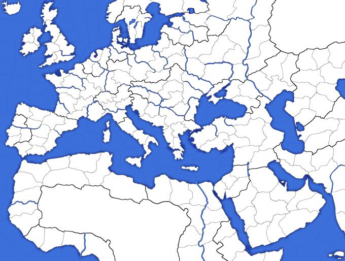 Cartina Fisica Dell Europa Da Colorare.L Europa Fisica Lessons Tes Teach
